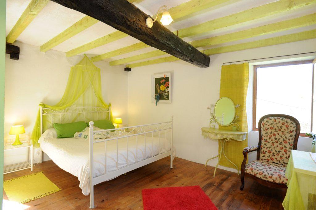 La Chambre Verte (lit double)